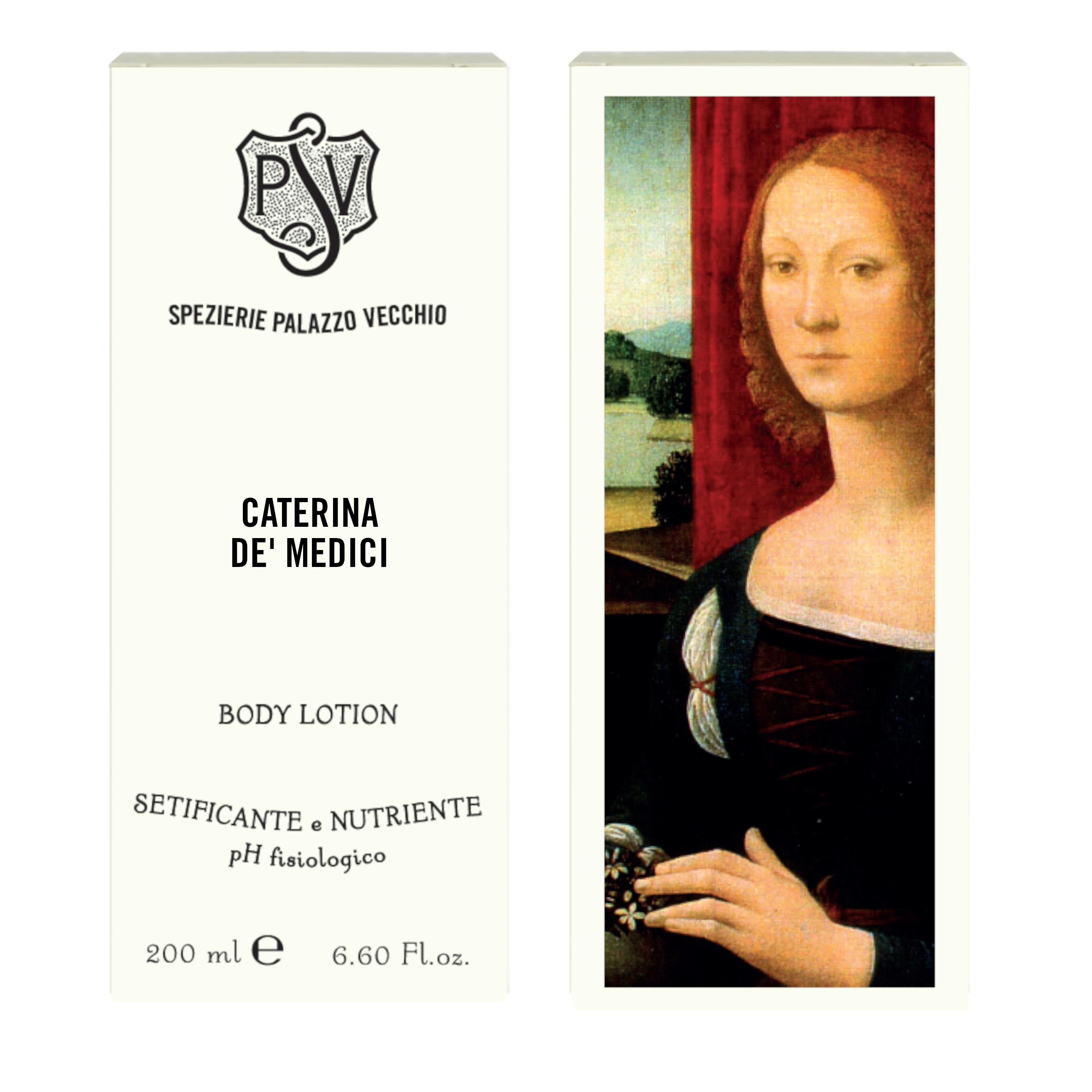 CATERINA DE' MEDICI Mandarin and Tuberose Body Lotion-4463