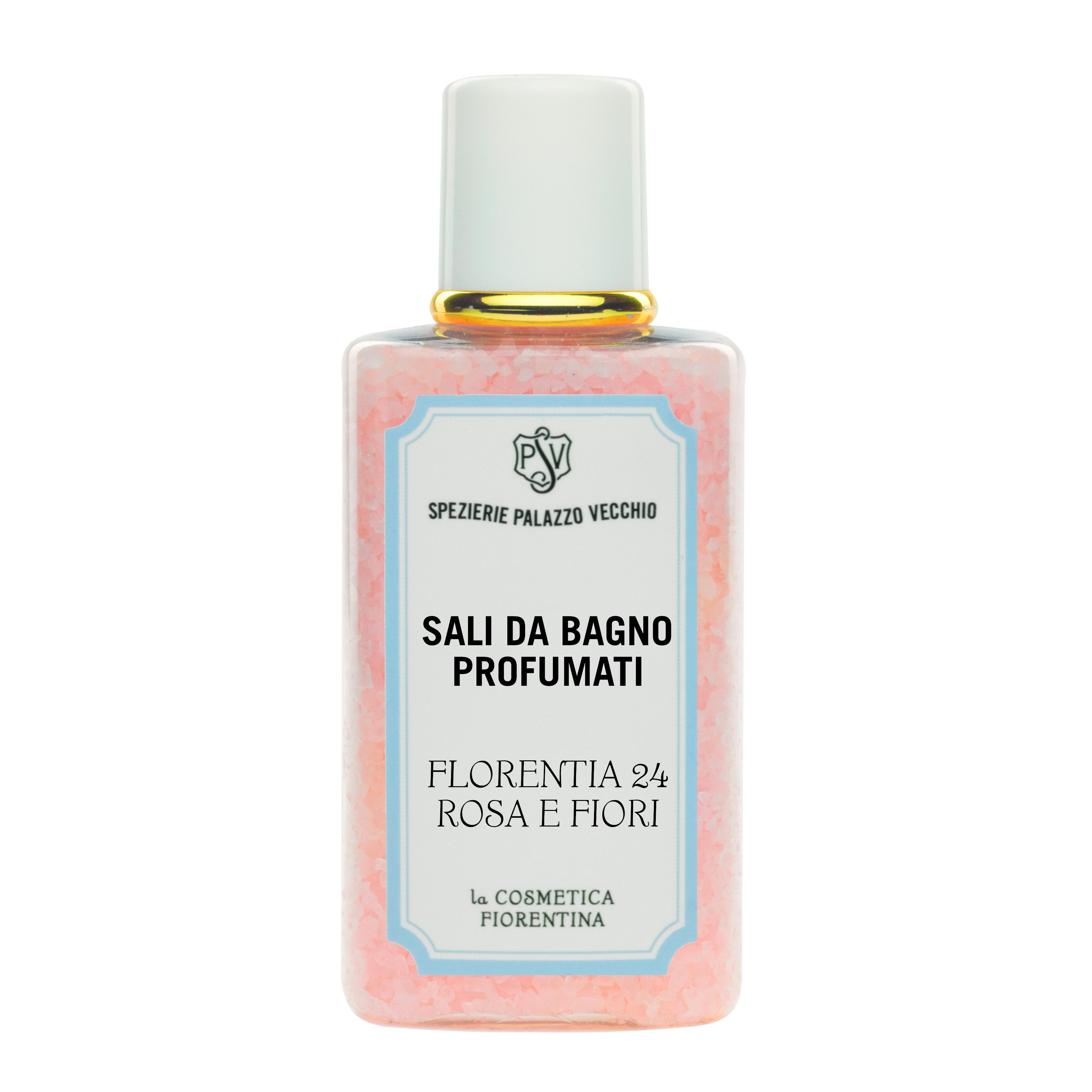 Perfumed Salts FLORENTIA 24 ROSA E FIORI-0