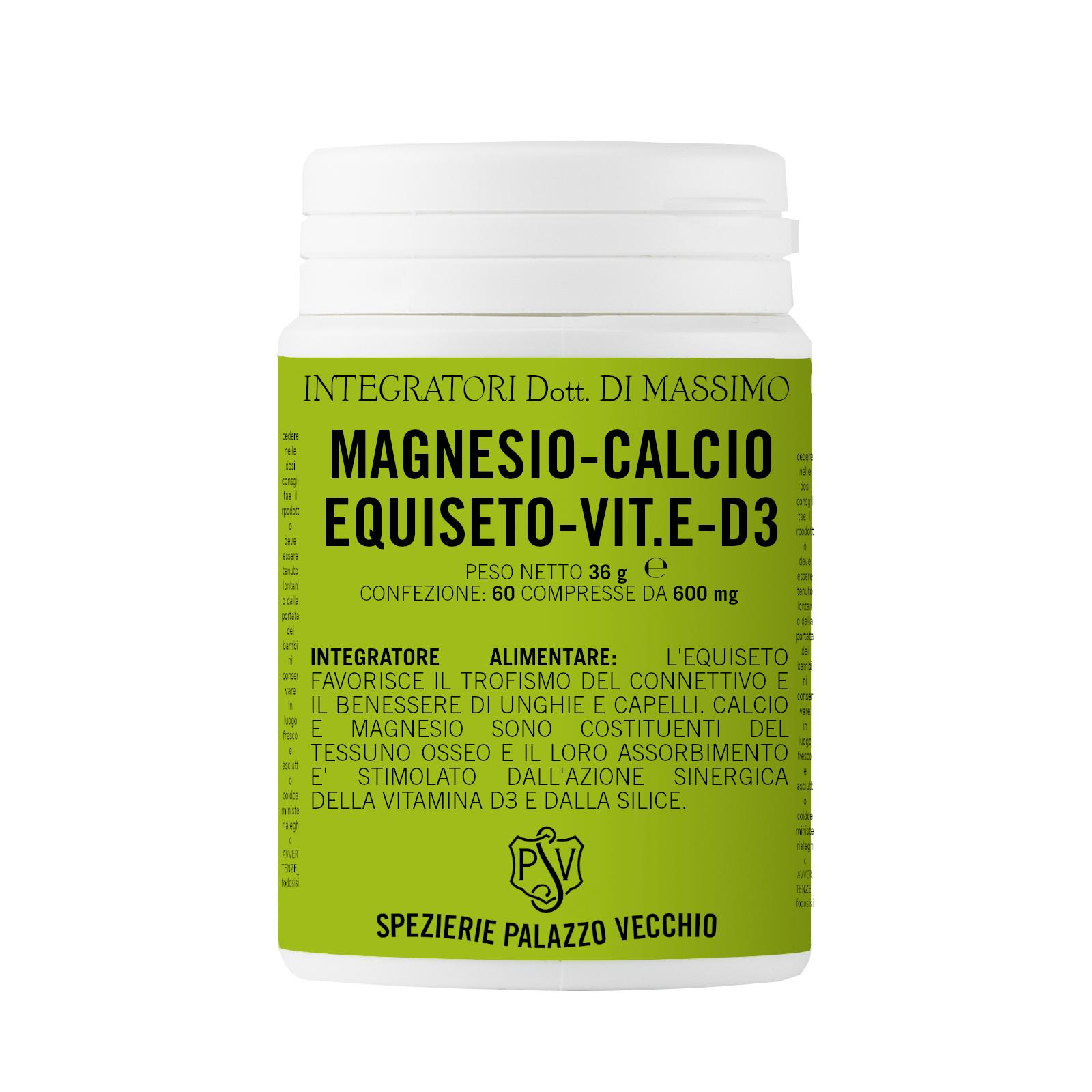 MAGNESIO - CALCIO - EQUISETO - VIT E - D3-0
