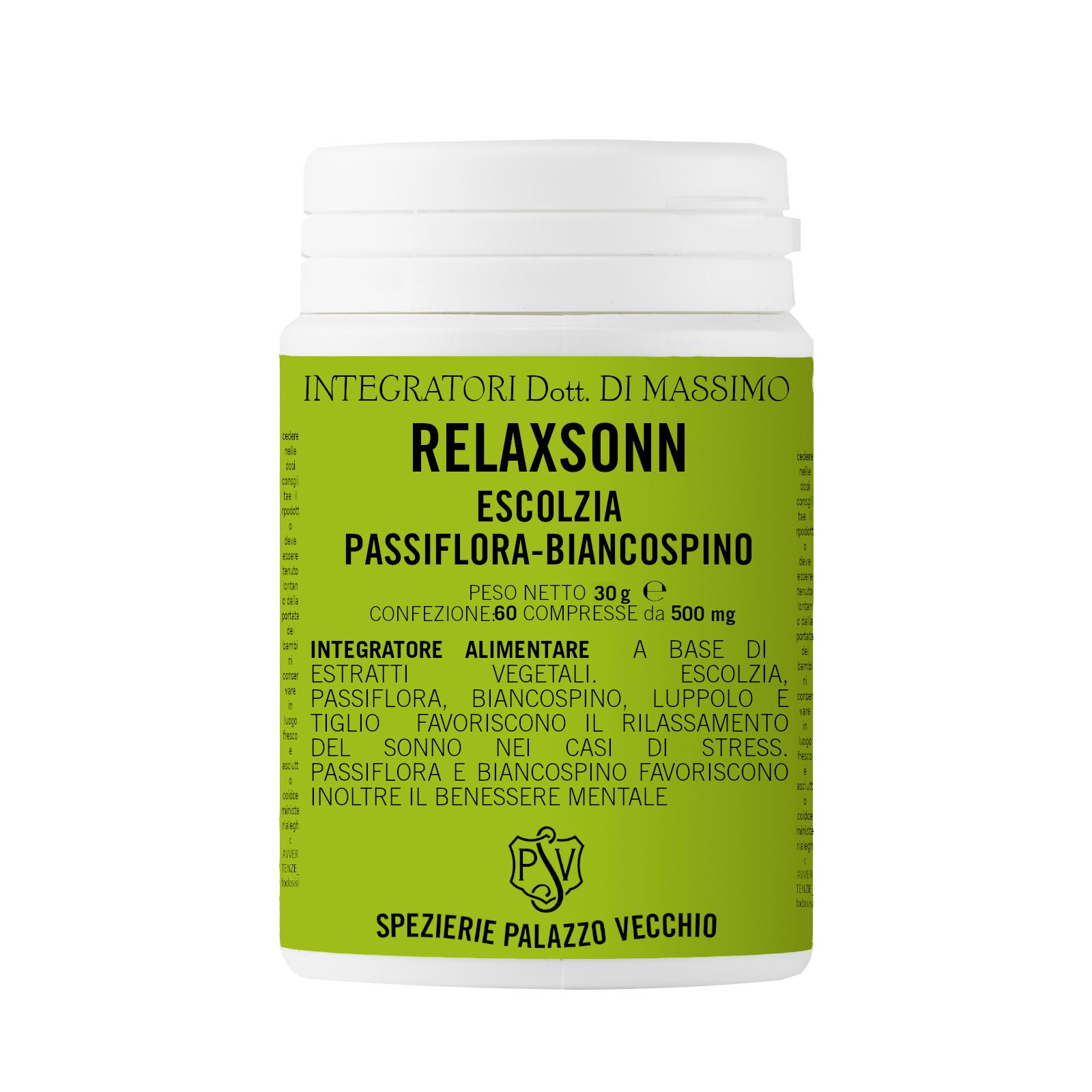 RELAXSONN Escolzia - Passiflora - Biancospino-0