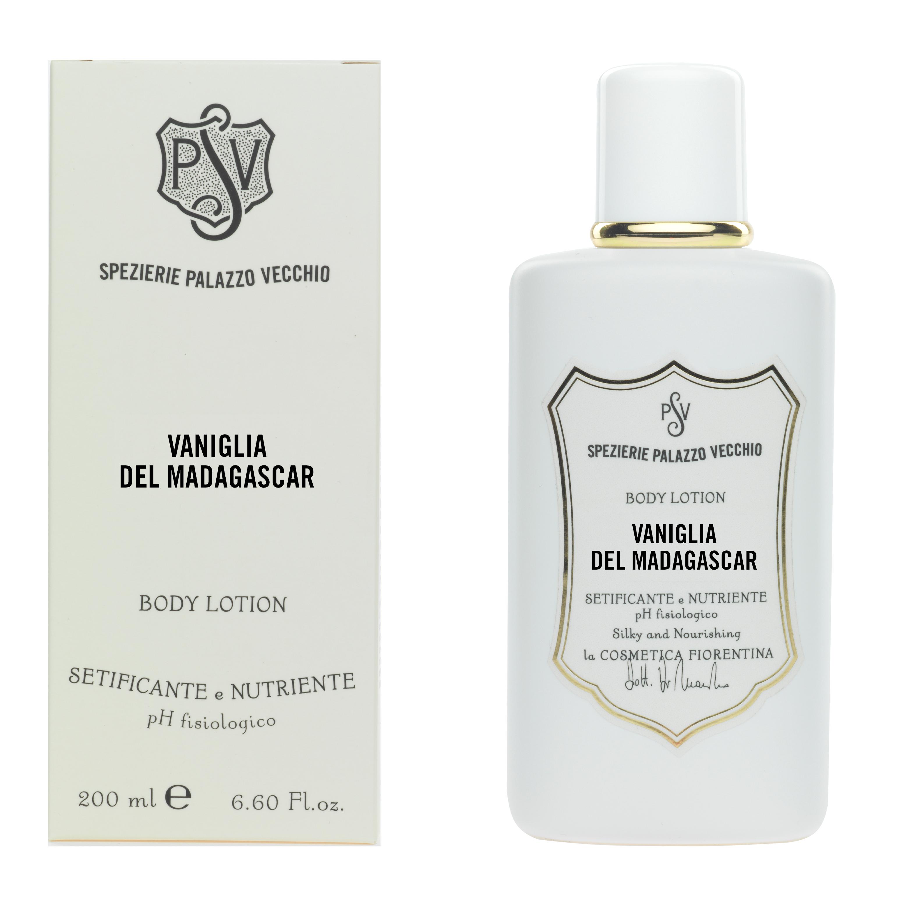 VANIGLIA DEL MADAGASCAR Vanilla and Cream Body lotion-4459