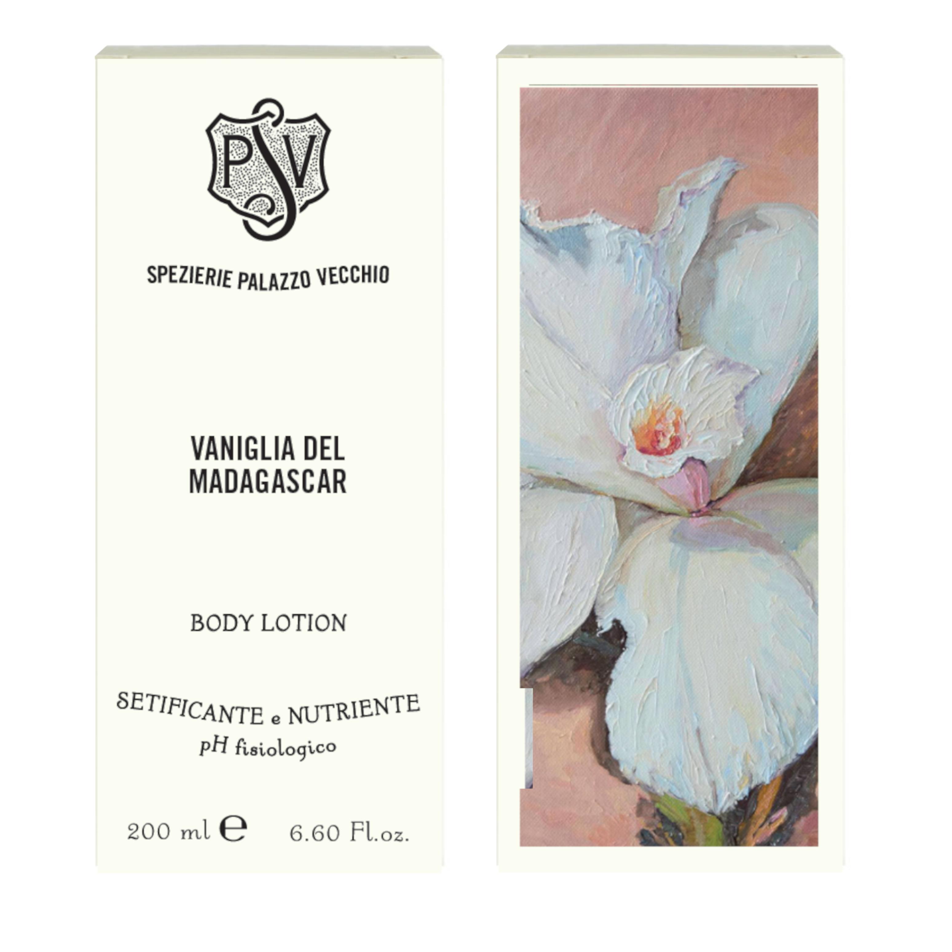 VANIGLIA DEL MADAGASCAR Vanilla and Cream Body lotion-4458
