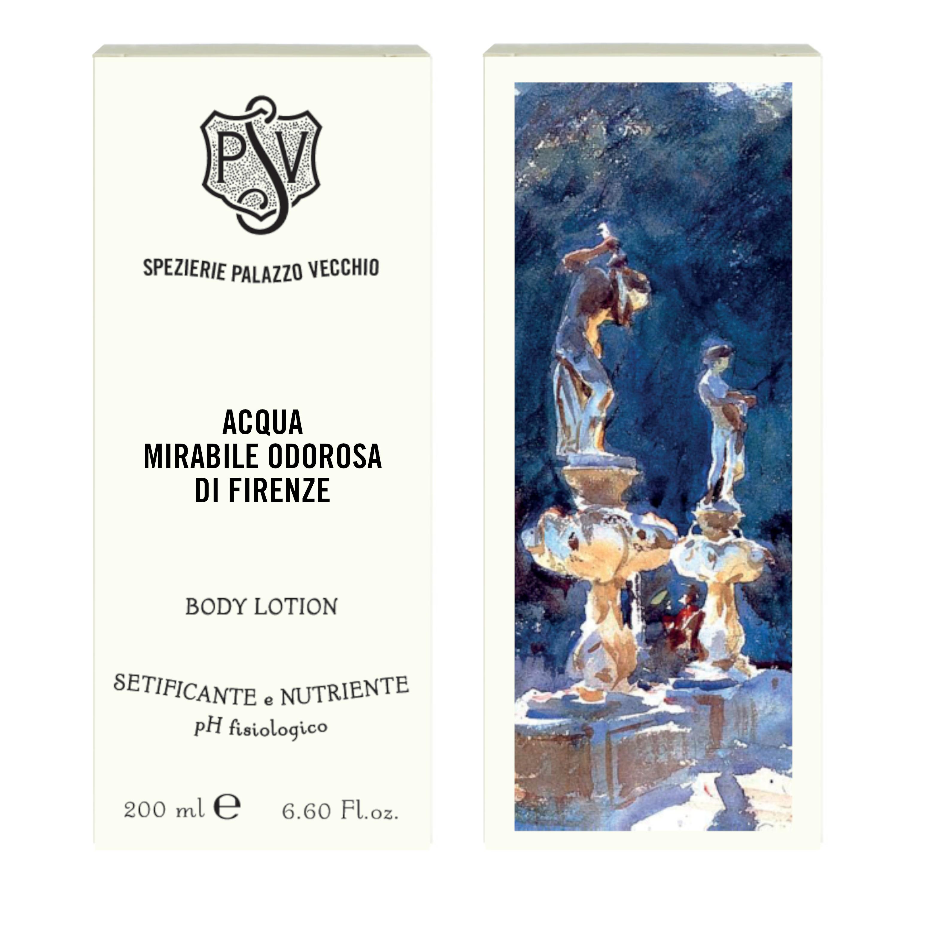 ACQUA MIRABILE ODOROSA DI FIRENZE 200ml Body Lotion-4454