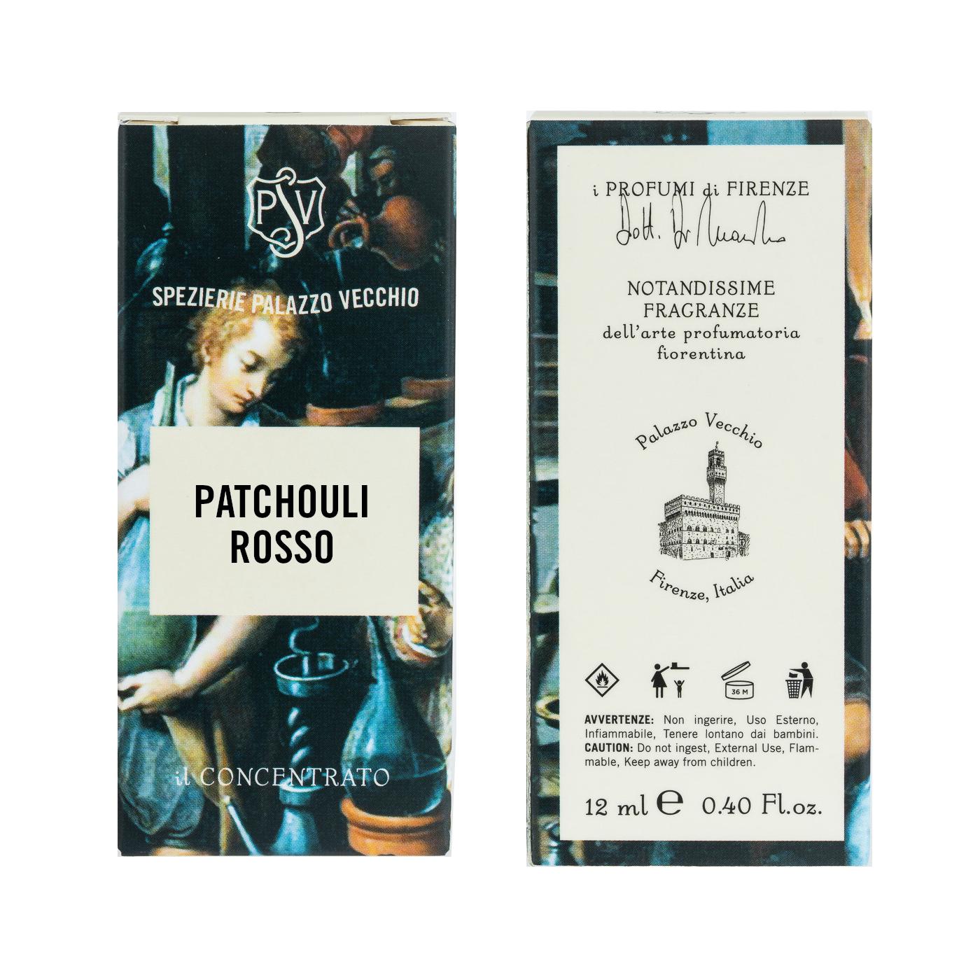 PATCHOULI ROSSO - Il Concentrato-3812